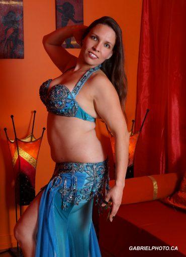 Mélanie Baladi Professeure et danseuse orientale