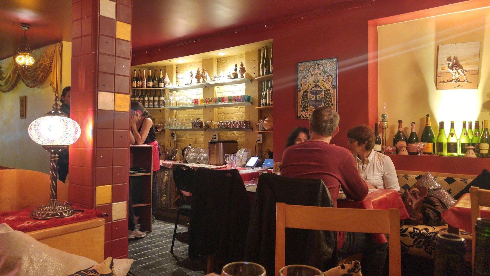 Restaurant Menthe et Couscous Couverture du livre