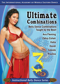 Belly Dance - Ultimate Combinations vol.3 Couverture du livre