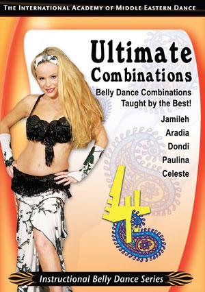 Belly Dance - Ultimate Combinations vol.4 Couverture du livre