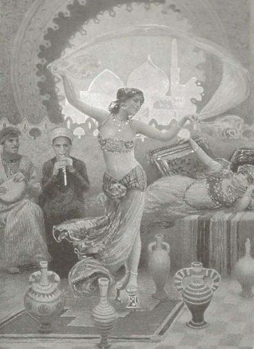 Danseuse de danse orientale