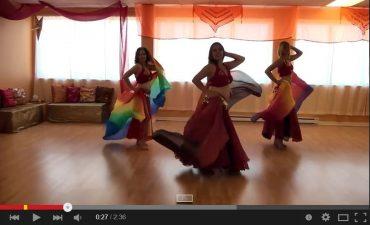 Vidéos YouTube de danse orientale de Mélanie Baladi